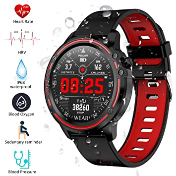 Padgene Smartwatch Reloj Inteligente IP68 Impermeable Bluetooth ...