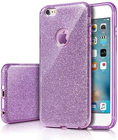 Milprox Iphone 6s Plus Hülle Glitzer Schutzhülle Elektronik