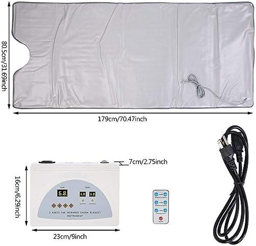 INLOVEARTS Far-Infrared FIR Sauna Blanket