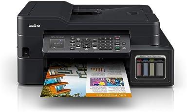 Brother Multifuncional MFC-T910DW Impresión Duplex con conexión Wi-Fi y Sistema de Tinta Continua de Fábrica