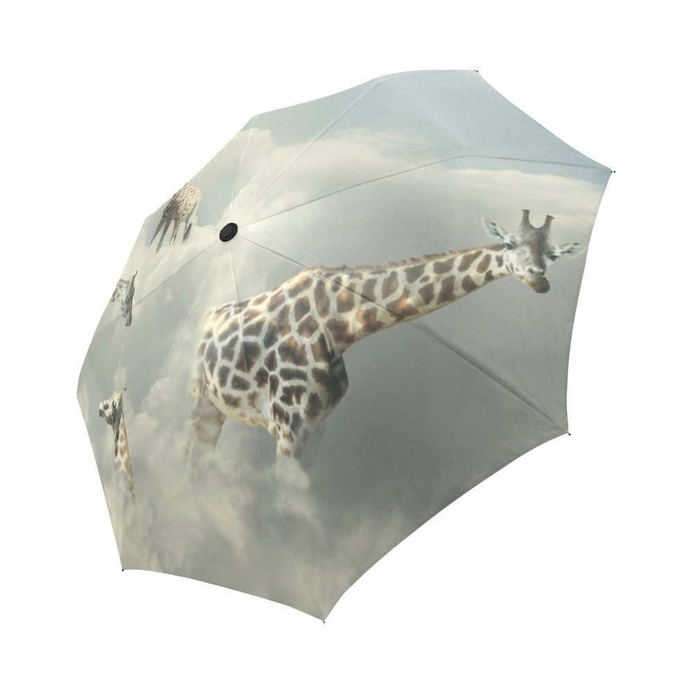 315668c92869 85%OFF your-fantasia Surreal Four Giraffe Walking in the Clouds Auto ...