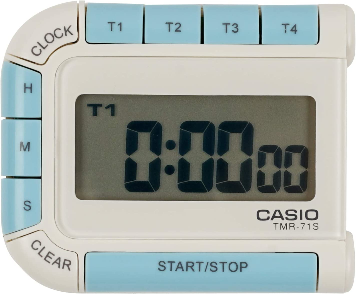 Max 85% OFF Casio Digital Timer Chicago Mall Back Magnet TMR-71S-7JH