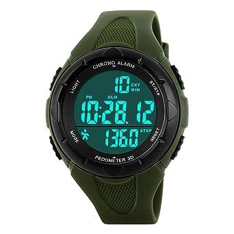 Amstt Herren Sportuhr Armbanduhr Militär Outdoor Wecker Analog