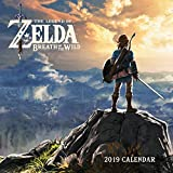 Books : Legend of Zelda: Breath of the Wild 2019 Wall Calendar