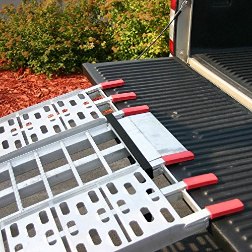 Black Widow 89'' Arched Folding Motorcycle Ramp System by Black Widow (Image #4)