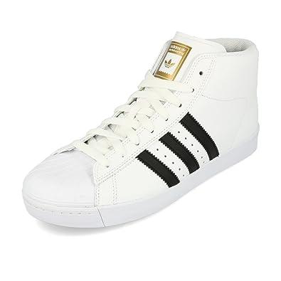 reputable site c0105 9429f adidas Pro Model Vulc ADV, Chaussures de Skateboard Homme, Blanc  (Ftwbla Negbas