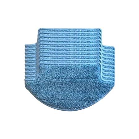 Xinvision 10PCS Wet Mopping Paño Pads Paño de limpieza Harapo ...