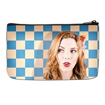 bfe931b7027e Amazon.com : Lgtbg Makeup Travel Case Make Up Custom Cosmetic Bags ...