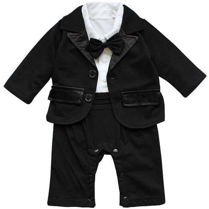 TiaoBug 2Pcs Disfraz Bebés de Caballero Traje de Etiqueta ...