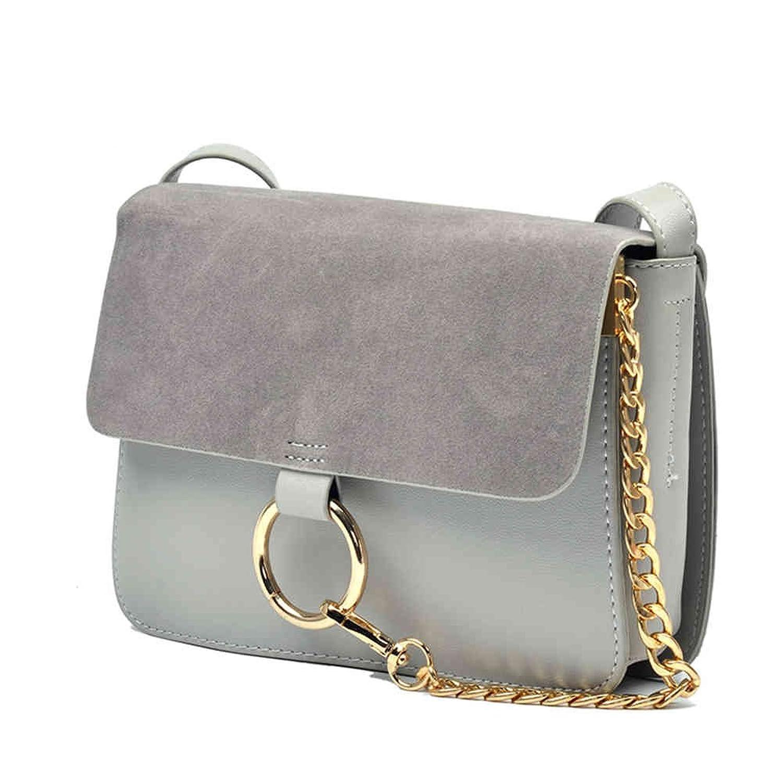FstFshion Women's PU Leather Tote Handbag Shoulder Bag with Shoulder Strap and Metal Chain