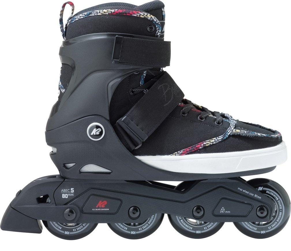 K2 Skate Broadway, Black, 11.5