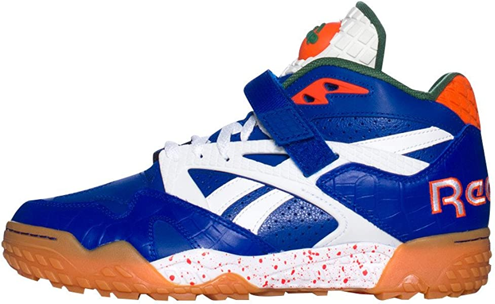 "Reebok Men s Pump Paydirt ""Florida Gators"" Royal Green White Orange V60292 ( MEN SIZE c2aa328be"