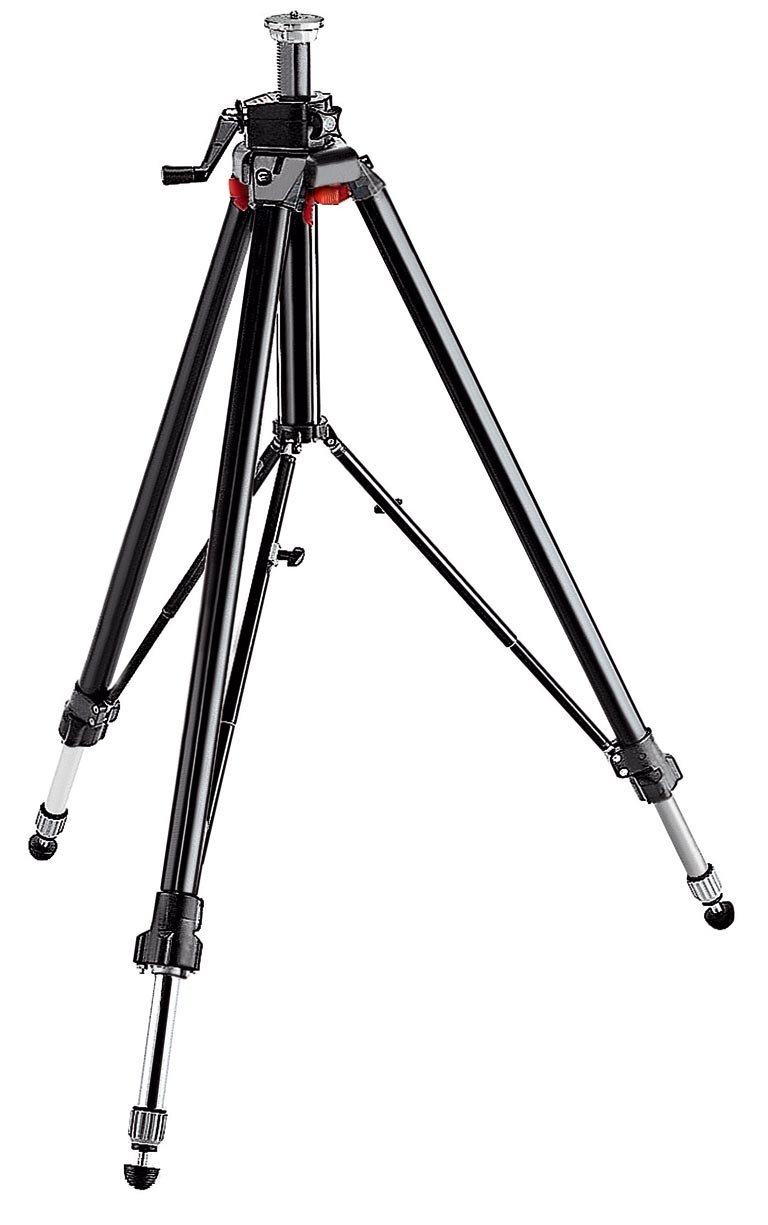 Manfrotto 058B Triaut Camera Tripod - Replaces 3251 and 3051