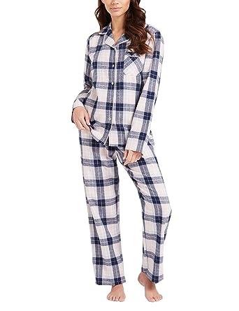release date: f2a30 e47da Lipsy Damen Pyjama-Set aus Hemd und Hose, kariert Rosa XL ...