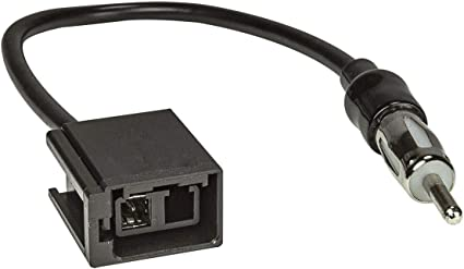 tomzz Audio Adaptador de antena 1556-001 compatible con Volvo S80 S60 V70 V40 GT5 2PP (M) a DIN 150 OHM