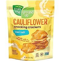 Cauliflower Snacking Cracker Sea Salt 6 x 3.5oz