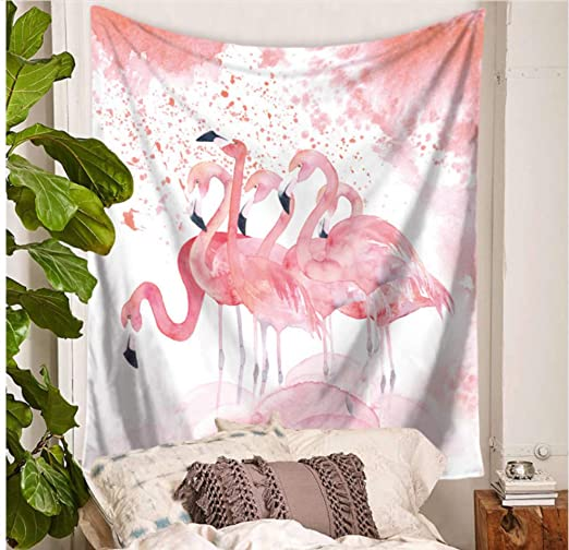 LoveTapestry Flamingo Tapicería Arte De La Pared Tapices ...