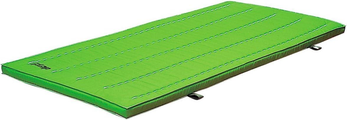 体操マット 再生PETニューカラーSTマット(スベラーズ付き) 90×180×5(cm) ライトグリーン