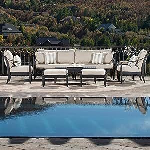 Astoria 8 Piece Sofa and Club Chair Set