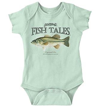 Trout Fishing Lures Shirt Outdoor Sporting Good Gill McFinn Romper Bodysuit