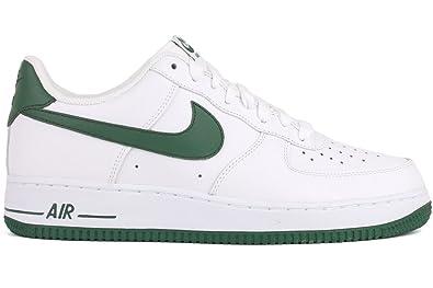 85dc33ea4edb NIKE Air Force 1 Low Mens Basketball Shoes 488298-101 White 7.5 M US