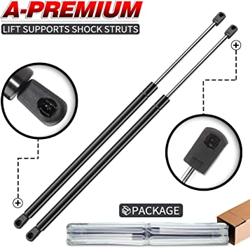 A-Premium Front Hood Lift Supports Shock Struts Compatible with Chevrolet Monte Carlo 2000-2005 2-PC Set