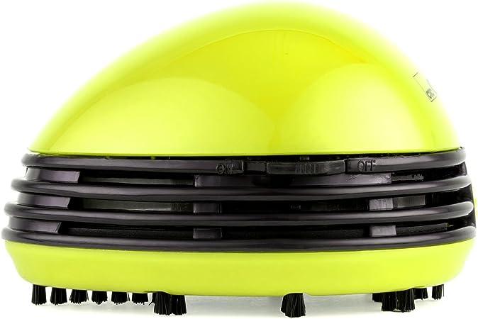 Tischstaubsauger Tischkr/ümelentferner Mini-Staubsauger batteriebetrieben