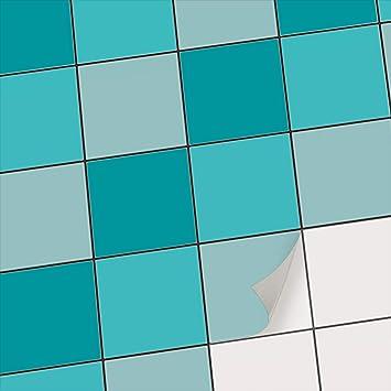 creatisto Deko-Folie Fliesen Fliesenmuster Fliesensticker | Fliesen-Folie  Sticker Aufkleber Klebefolie Fliesen Badezimmer deko Küche Fliesentattoo |  ...