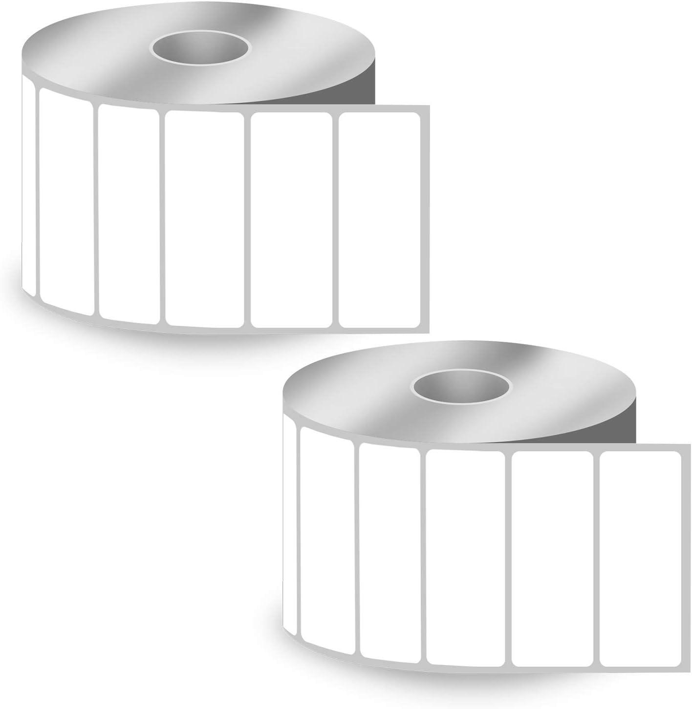20 Label Rolls for Berkel 49x62 mm Blank Thermal Labels