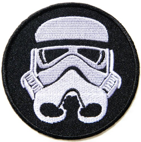 STORMTROOPER Star Wars Cartoon Comic Patch Sew Iron on Embroidered Applique Collection Costumes DIY By ()