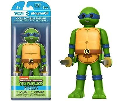 Teenage Mutant Ninja Turtles Leonardo Playmobil Figura De Acción