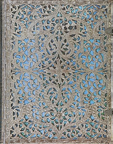 - Maya Blue Journal: Lined Ultra (Silver Filigree Collection)
