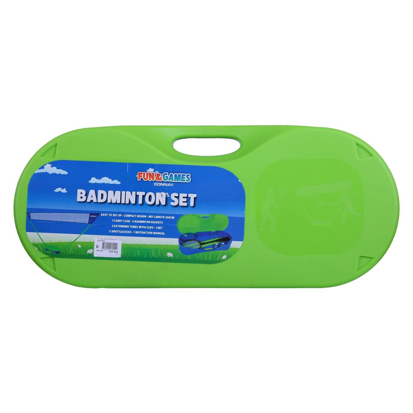 Donnay Unisex Badminton Set Amazon Sports Outdoors