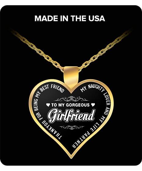 amazon com girlfriend gifts to my gorgeous girlfriend best gift