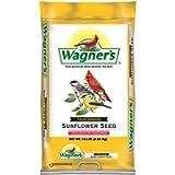 Wagner's 76025 Four Season Black Oil Sunflower Seed Wild Bird Food, 10-Pound Bag