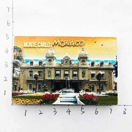 Huyenkute Imanes de Resina 3D para Nevera, diseño de Monaco ...