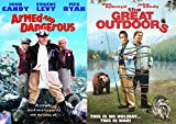 Security Guards & The Great Outdoors/Armed & Dangerous 80's comedy movie double feature