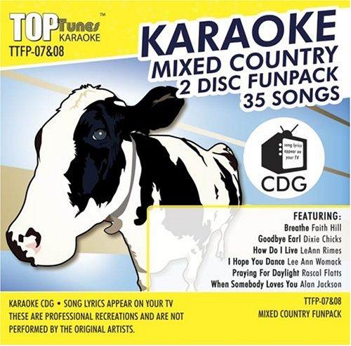 Top Karaoke Tunes - Top Tunes Karaoke CDG Fun Pack TTFP-7&8 v2; Faith Hill & Tim McGraw, Shania Twain and Alan Jackson