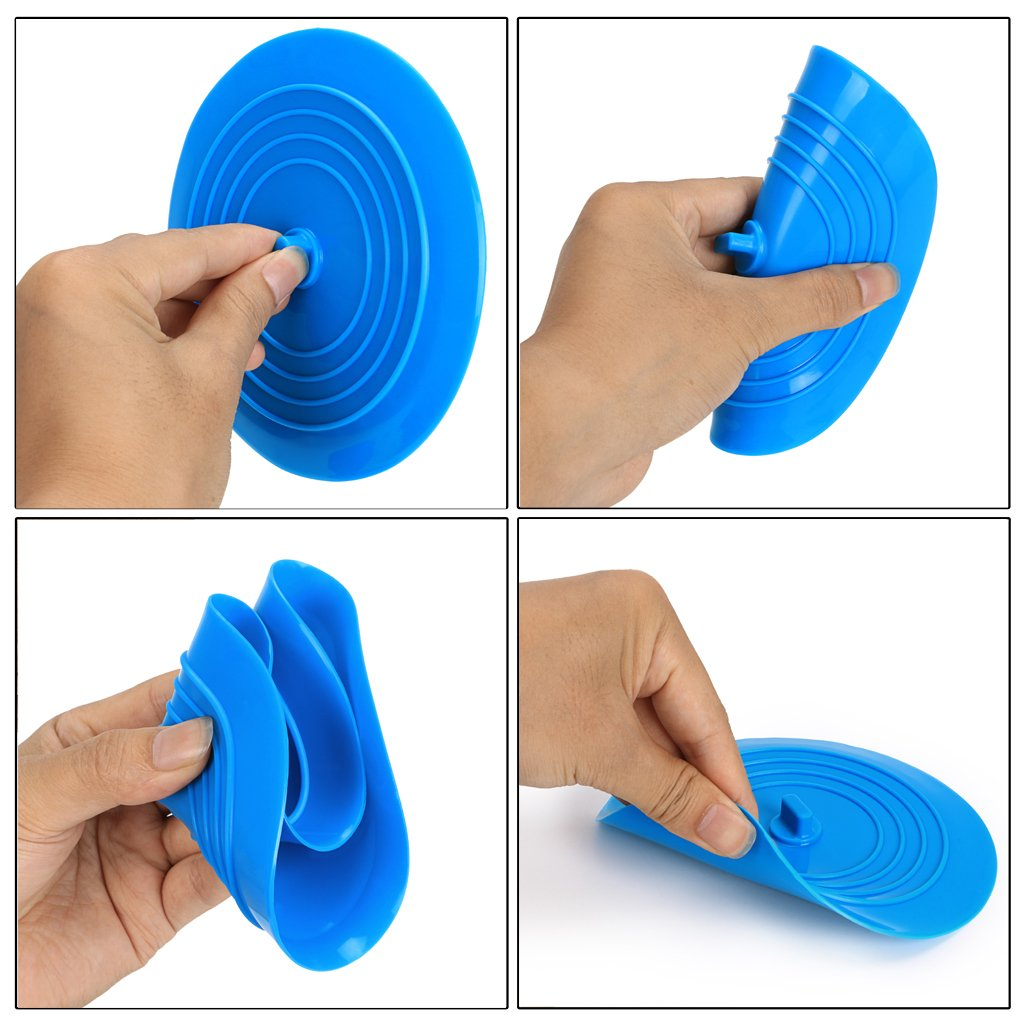 /Tappo vasca tappo di copertura per la cucina lavandino vasca di scarico viaggio in silicone gomma tappo di scarico Btsky 2/confezione 15,2/cm universale gomma di silicone/