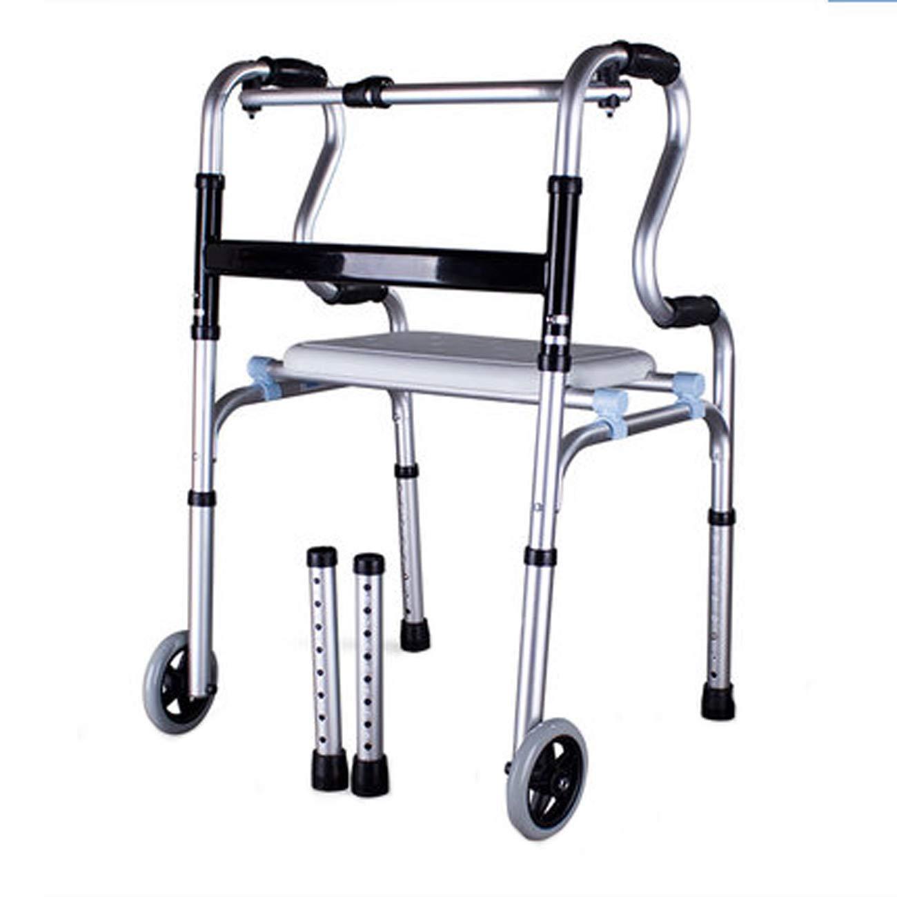 【超新作】 高齢者の歩行器 (設計、アルミニウム合金ウォーキングウォーカー B)、2キャスター補助歩行者、マルチスタイルのオプションを運ぶ (設計 B : B) B B07L4R422Y, 大人気新作:9be2475e --- a0267596.xsph.ru