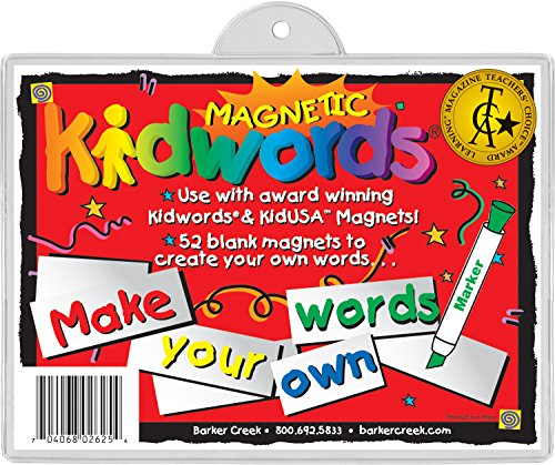 Barker-Creek-Office-Products-Learning-Magnets-Kid-Words-Make-Your-Own-Words-LM-2625