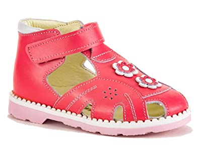 c904cb712a Tukyys Girls/Boys Genuine Leather Shoe - Sandal with Orthopedic Insole ( Toddler & Little