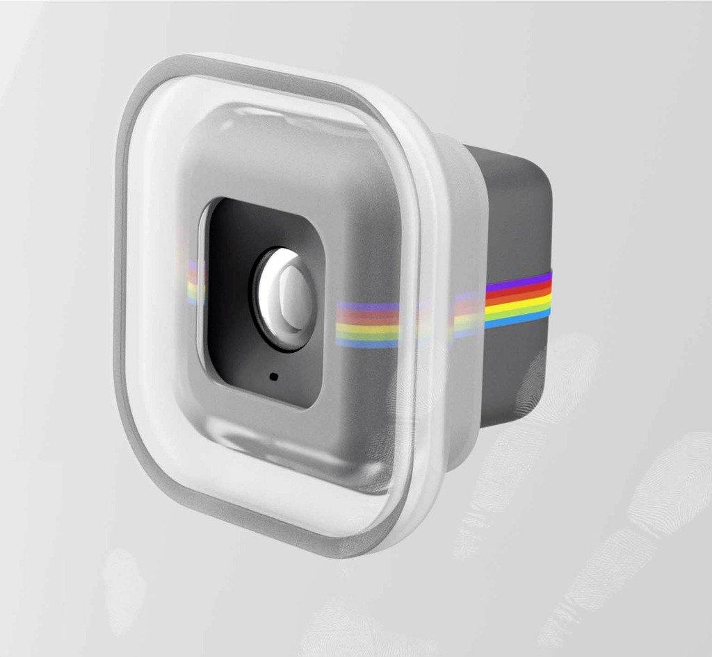 Polaroid Cube & Cube + Ojo Ventosa para Cristal, Pared, Mesa ...