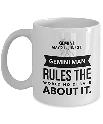 Amazon STHstore GEMINI MAN RULES THE WORLD NO DEBATE ABOUT IT