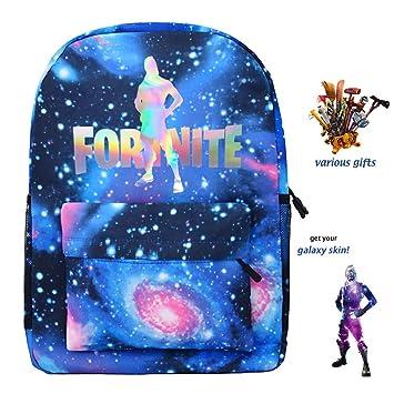 keen ztq fortnite battle laser school bag daily rucksack for kid girl boys ninja galaxy skin amazon co uk luggage - art hub for kids fortnite skins