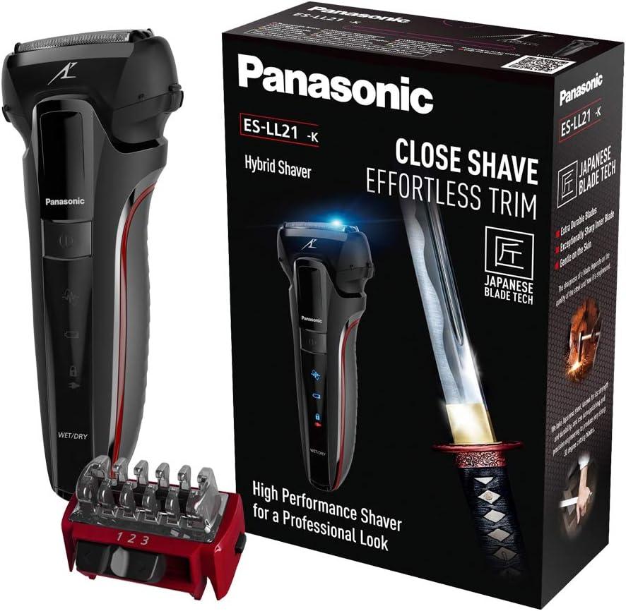 Panasonic ES-LL21 Máquina afeitadora para condicioens húmedas y ...