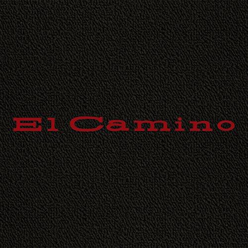 Lloyd Mats - Classic Loop Black Front Floor Mats For Chevrolet El Camino with Red El Camino Lettering