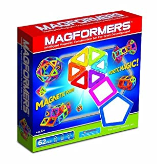 Magformers Magnetic Building Construction Set - 62 Piece Extreme FX Set (B00AUW4WN4)   Amazon price tracker / tracking, Amazon price history charts, Amazon price watches, Amazon price drop alerts
