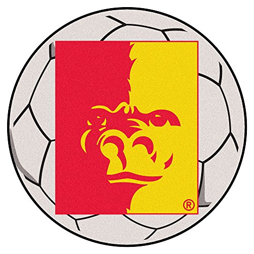 (NCAA Pittsburg State University Gorillas Soccer Ball Mat Round Area Rug)