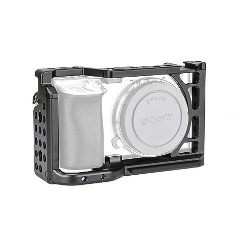 fotowelt Professionally a6400 Jaula para cámara Compatible con ...